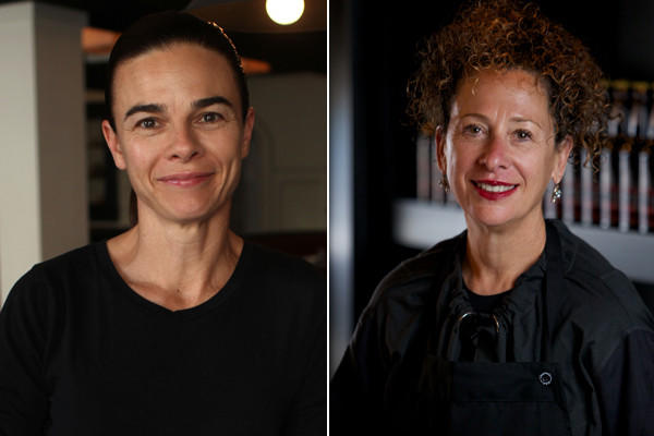 Suzanne Goin and Nancy Silverton