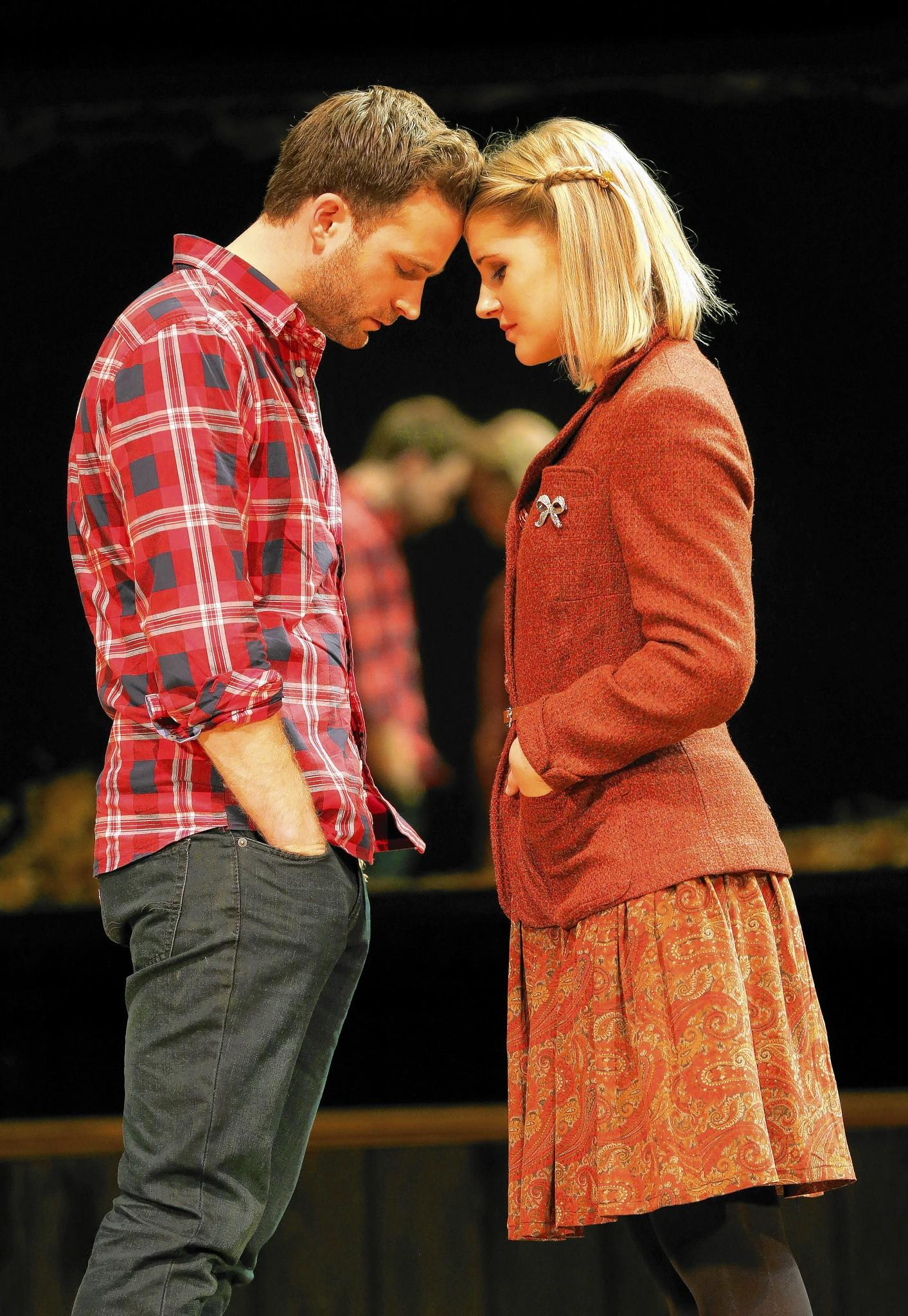 "Romance fills the musical ""Once,"" whose tour arrives at the Shubert theater in New Haven Feb. 26 to March 2."