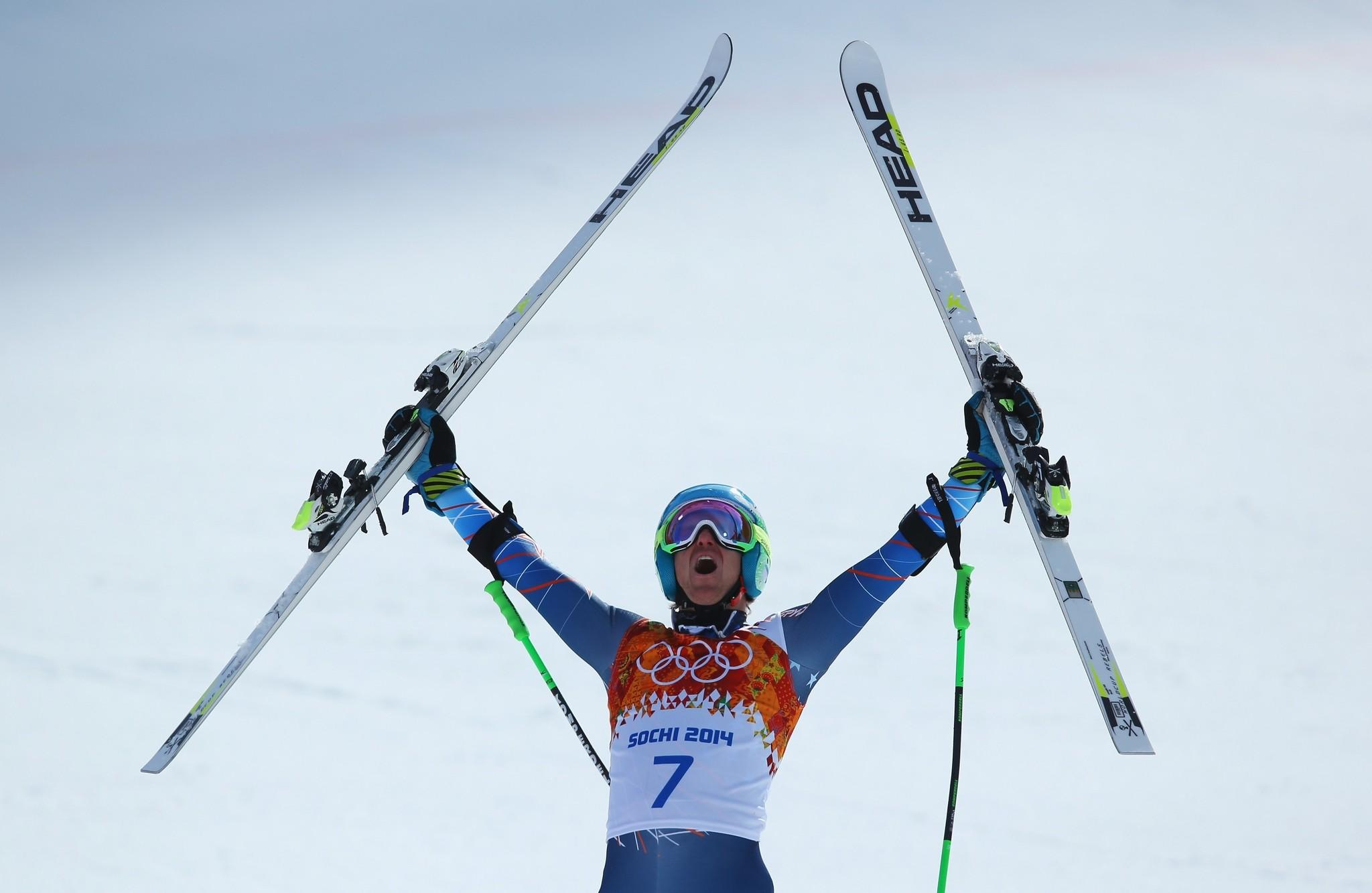 Ted Ligety won the gold medal in the giant slalom event Wednesday by a comfortable .48 second margin, claiming his first gold since 2006.