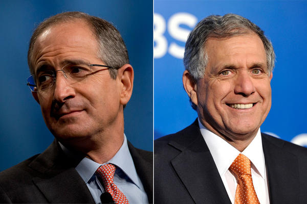 Brian Roberts and Leslie Moonves