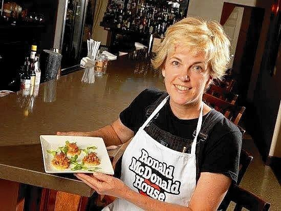 Chef Kathleen Blake of Orlando's Rusty Spoon will prepare chermoula chicken, salt-and-vinegar potato crisp with pickled red onions.