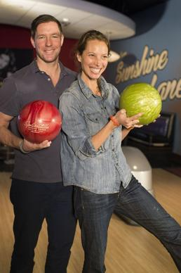 Ed Burns and Christy Turlington were spotted together at Splitsville Luxury Lanes in Downtown Disney with an extended group of friends and family in February 2014. Burns is known for his roles in films like 'Saving Private Ryan' and 'One Missed Call,' while Turlington is known for her stint as a model representing Calvin Klein from 1987 to 2007.