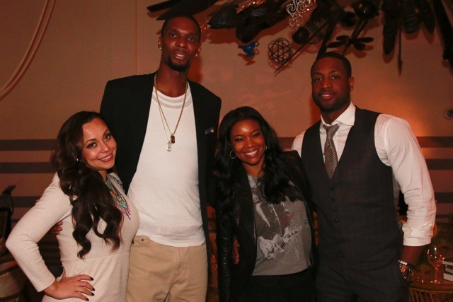 Celeb-spotting around South Florida - Dwyane Wade, Gabrielle Union and Chris Bosh