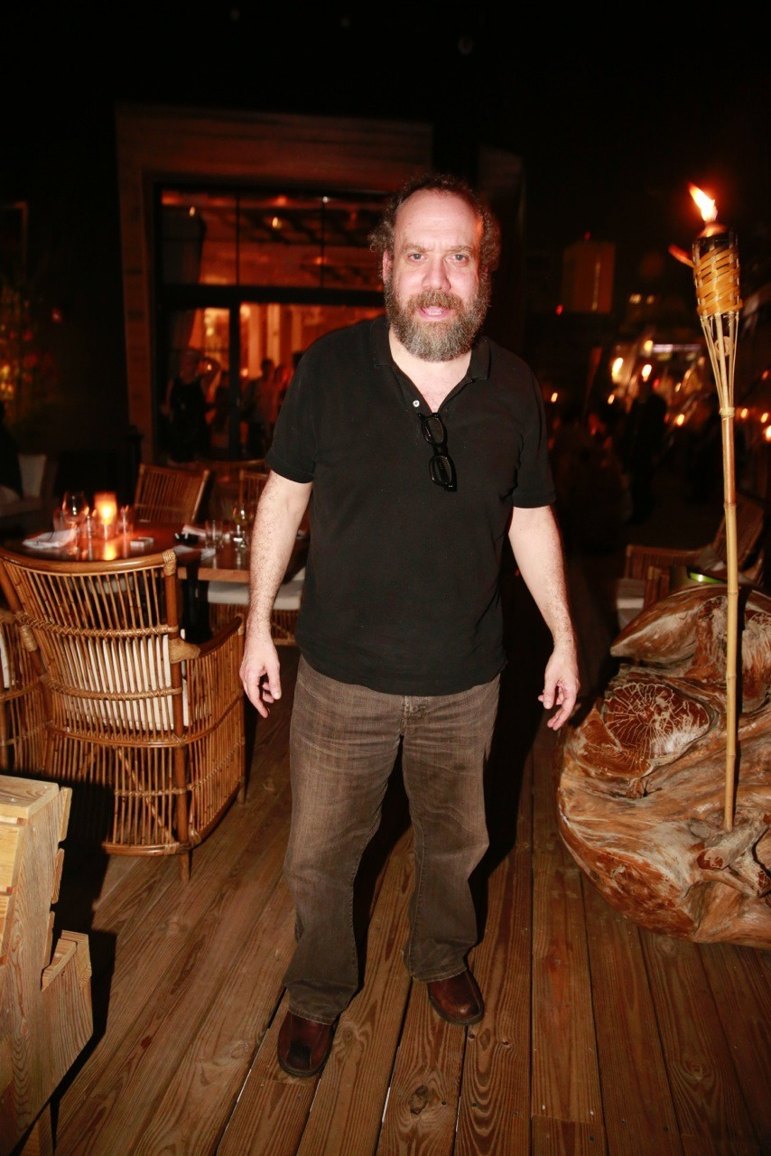 Celeb-spotting around South Florida - Actor Paul Giamatti