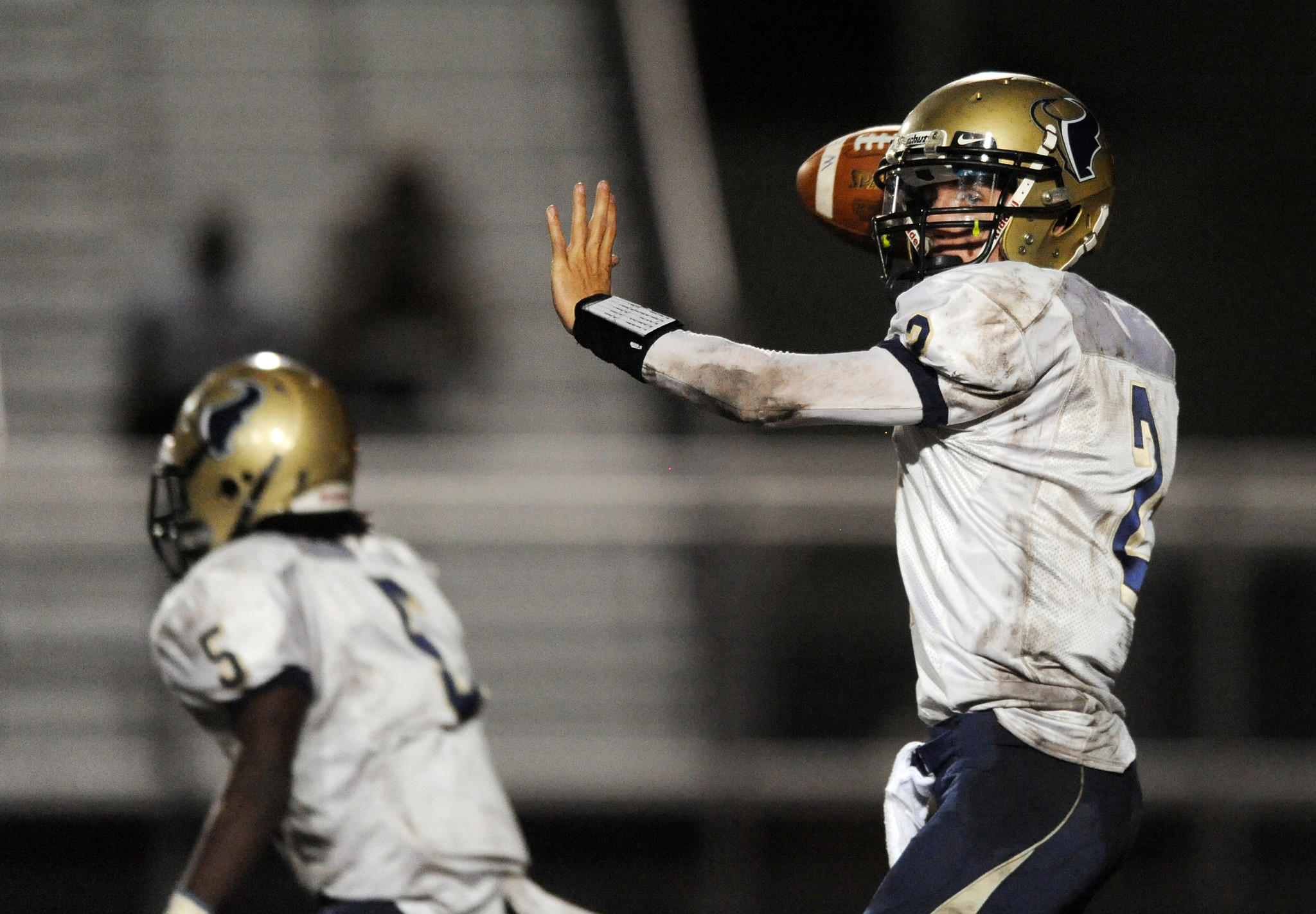 West Boca quarterback Paul Colombo says hes destined for the Division-III level, its just a matter of picking the school of his choice.