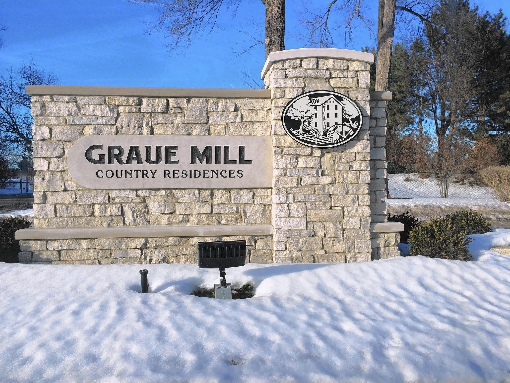The Graue Mill Country Residences has been selected for a $2.57 million grant to pay for flood control measures.