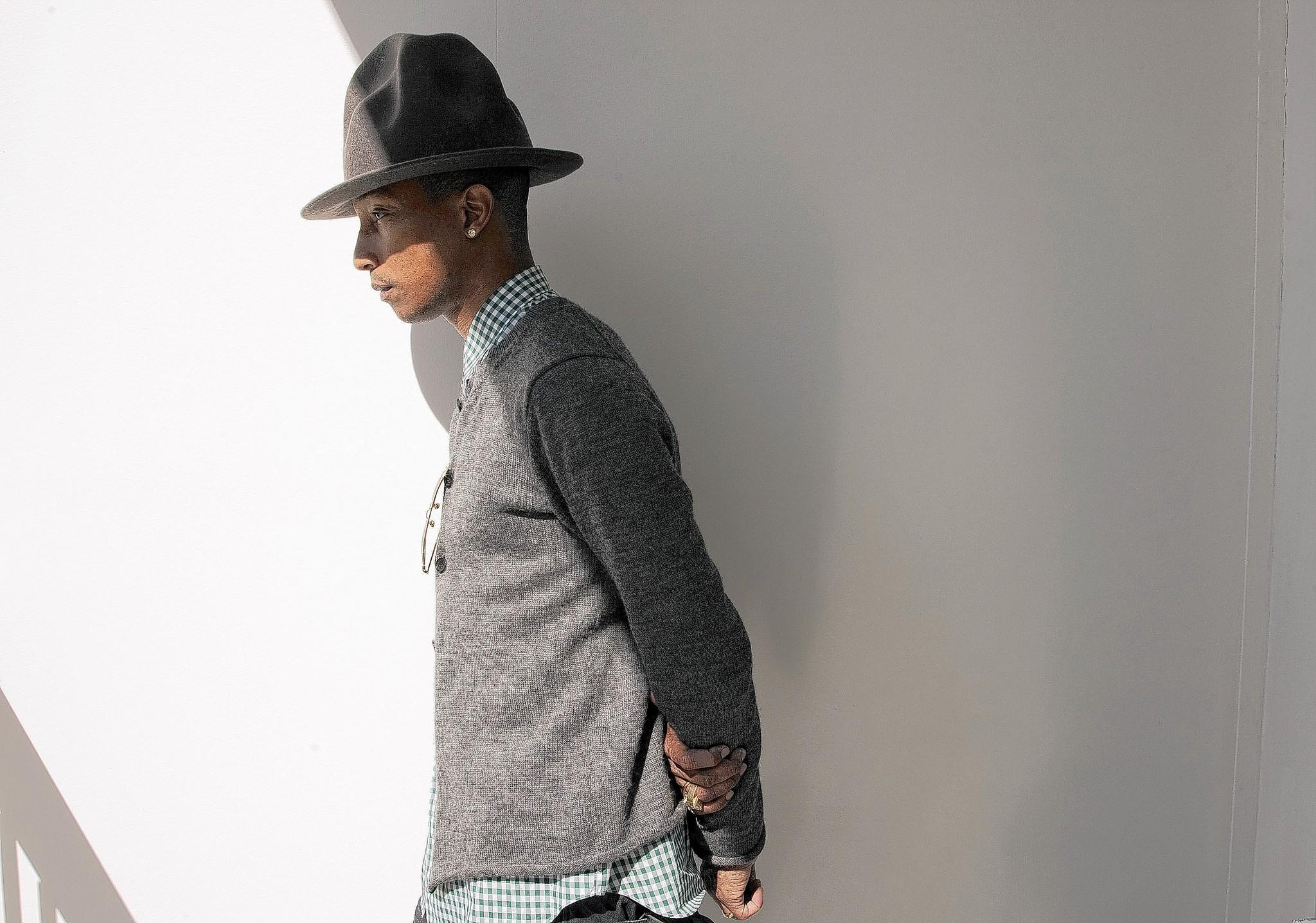 "Pharrell Williams is nominated for an Oscar for his song ""Happy"" from ""Despicable Me 2."""