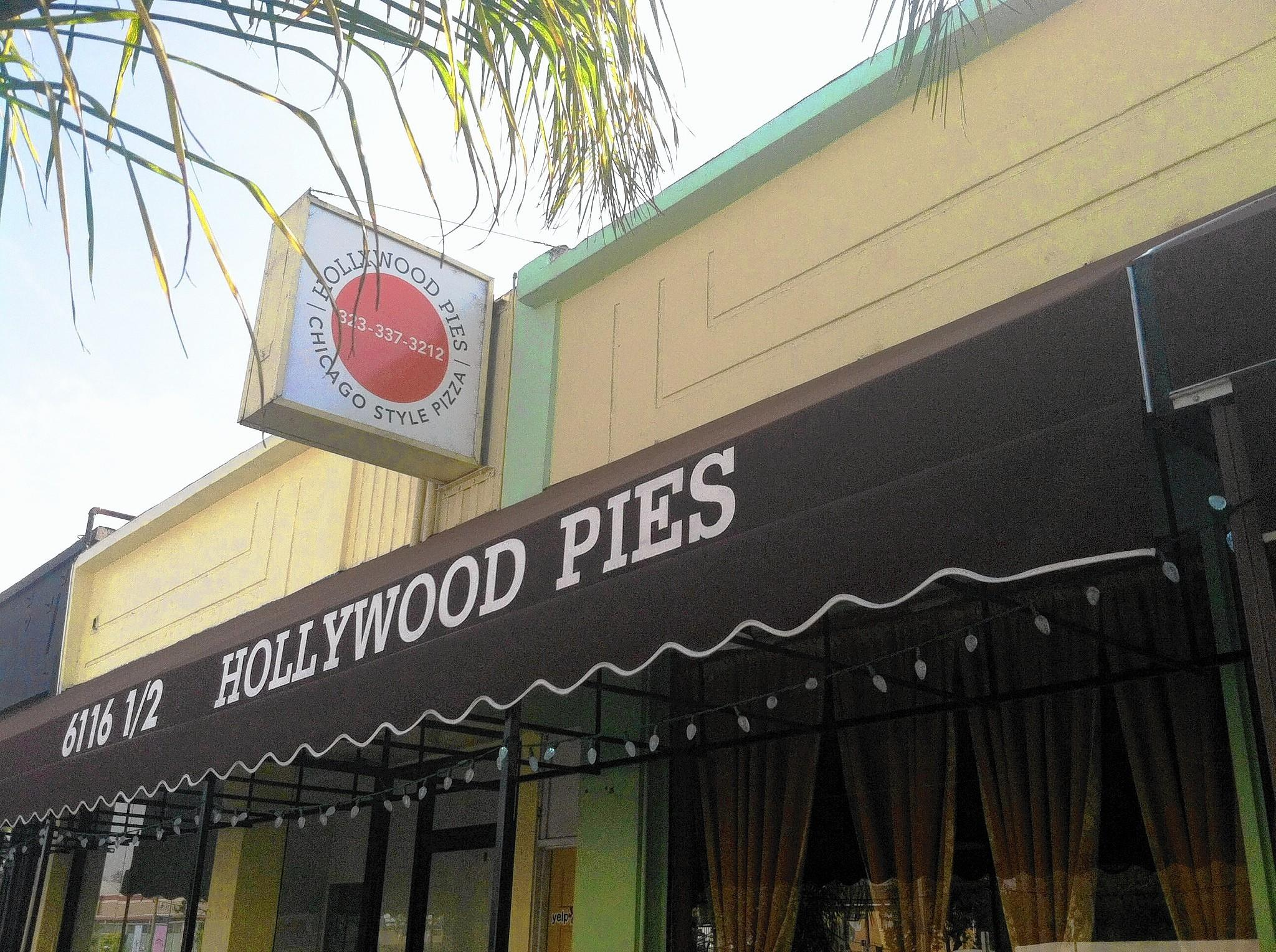 Hollywood Pies serves up Chicago-style pizza in Los Angeles.