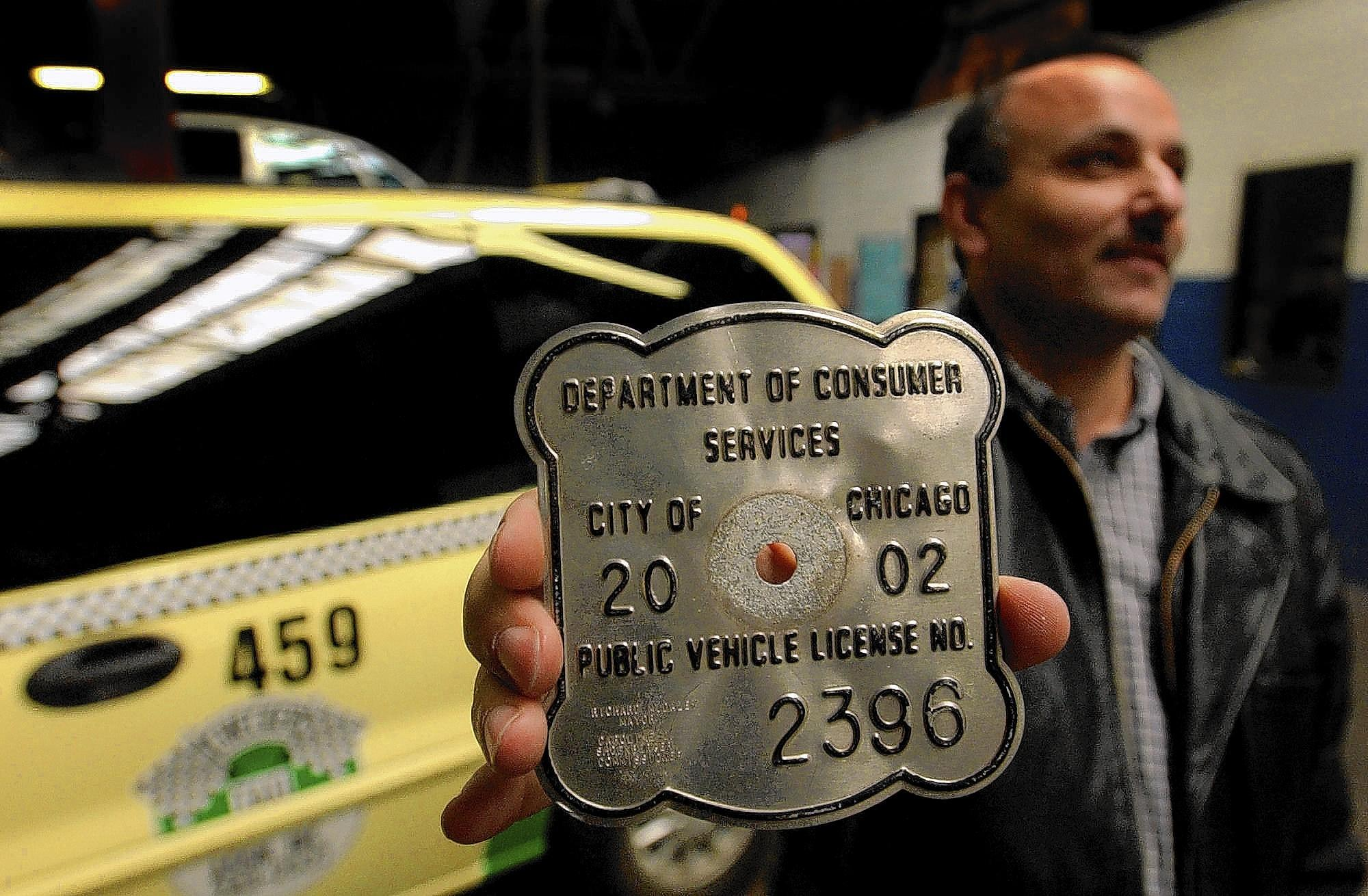 Taxi medallions in Chicago have spiked in price from less than $80,000 eight years ago to about $360,000 now. It's no wonder medallion owners want to limit competition.