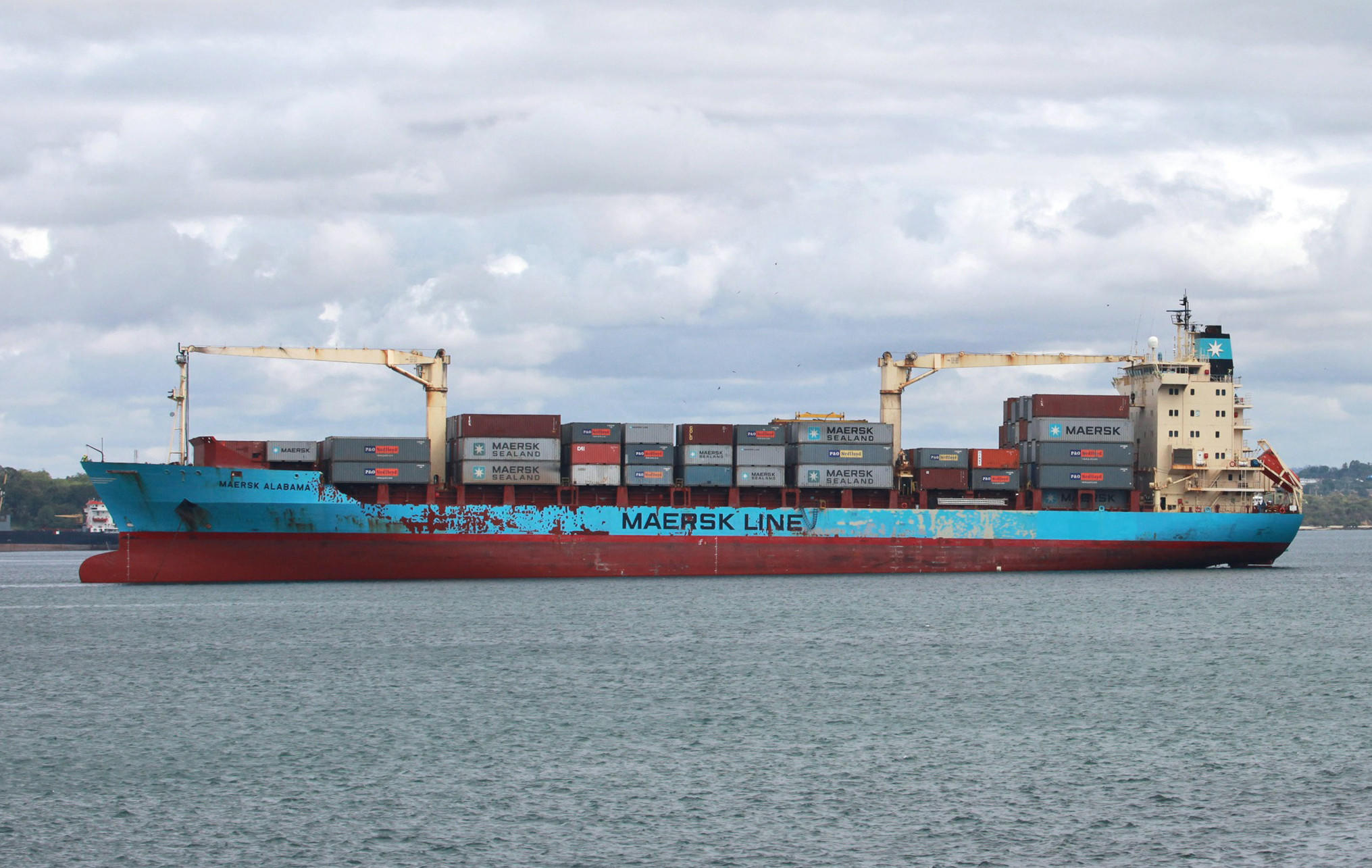 "Two American security officers have been found dead aboard the Maersk Alabama, the cargo ship whose 2009 hijacking inspired the film ""Captain Philips."""