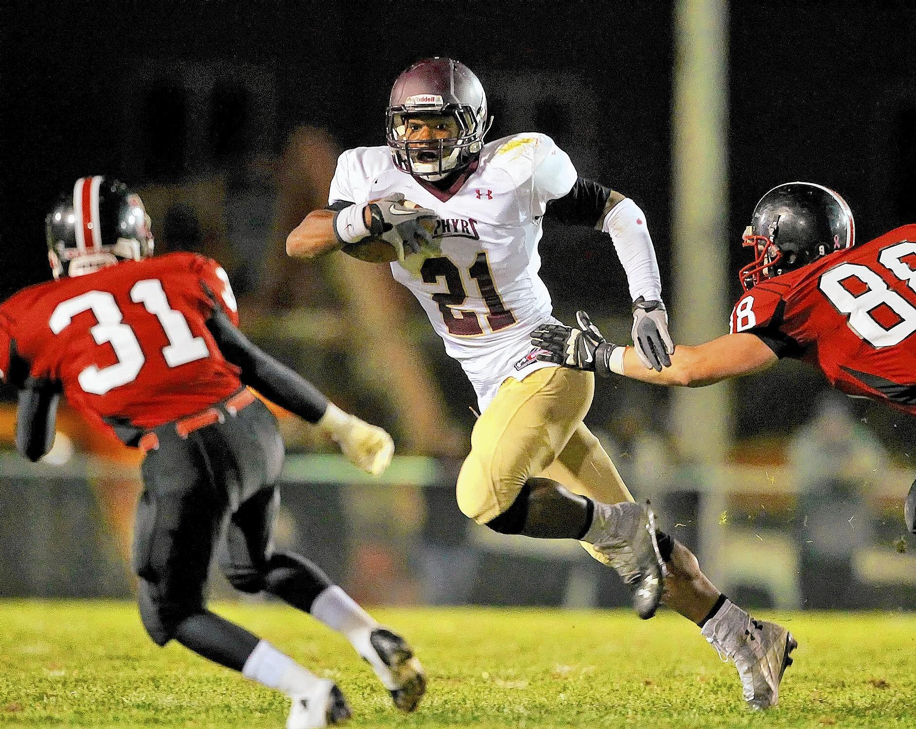 Whitehall's Saquon Barkley (21) has committed to Penn State.