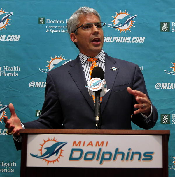 New Dolphins GM Dennis Hickey has roughly $38 million in cap space to use during his first offseason in Miami.