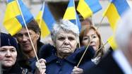Chicagoans protest after deadly riots in Ukraine