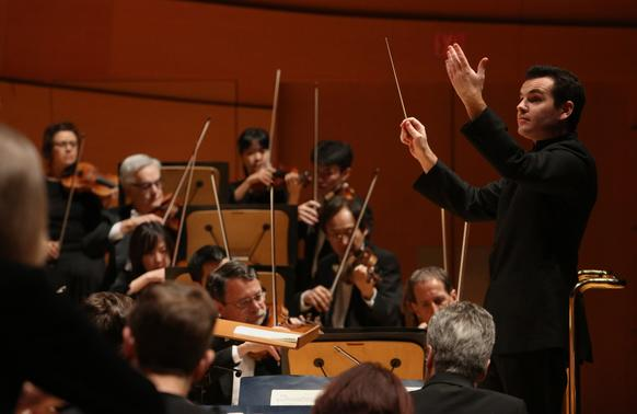 Lionel Bringuier conducts the Los Angeles Philharmonic.