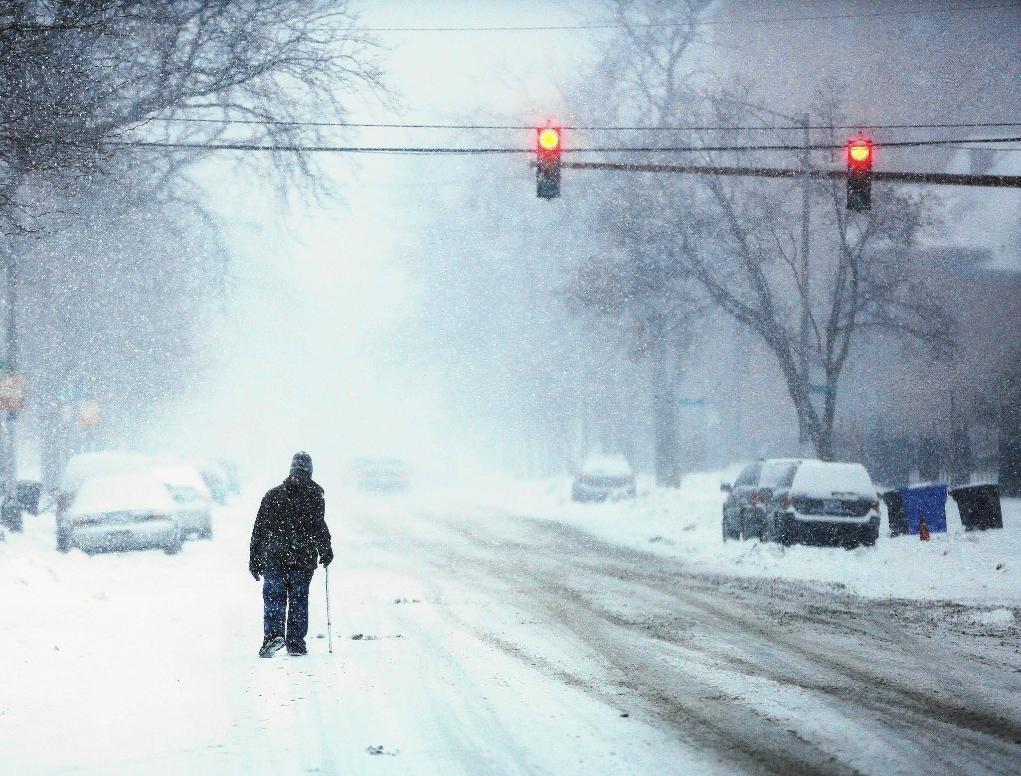Chicago's winter of 2013-14 has been a blast. Or more accurately, one blast after another.