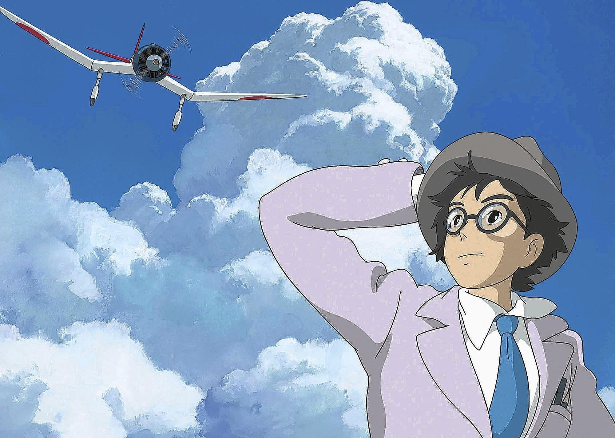 """Scene from """"The Wind Rises."""""""