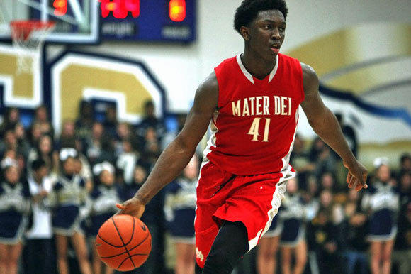 Stanley Johnson is trying to lead Mater Dei to its fourth consecutive state championship.