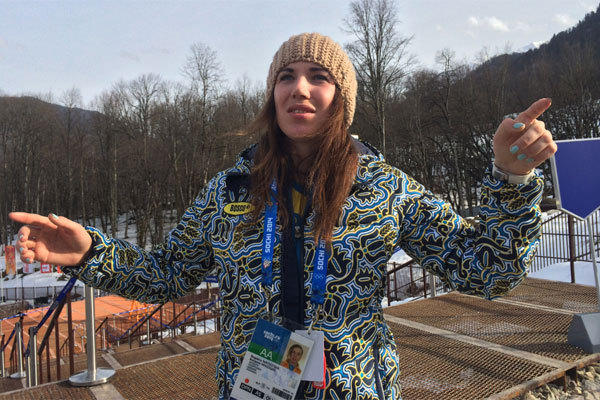 Ukrainian skier Bogdana Matsotska said Thursday she will no longer compete in the Sochi Olympics because of the violence in her country.