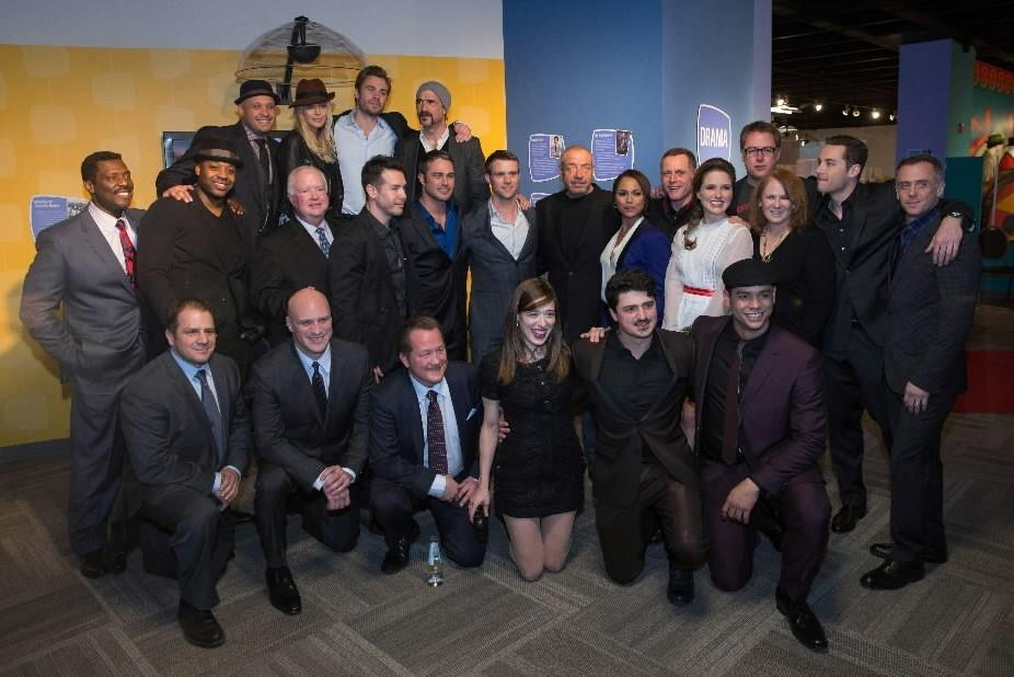 """The casts of """"Chicago Fire"""" and """"Chicago PD"""" attend """"An Evening with Dick Wolf"""" at the Museum of Broadcast Communications Feb. 19, 2014."""
