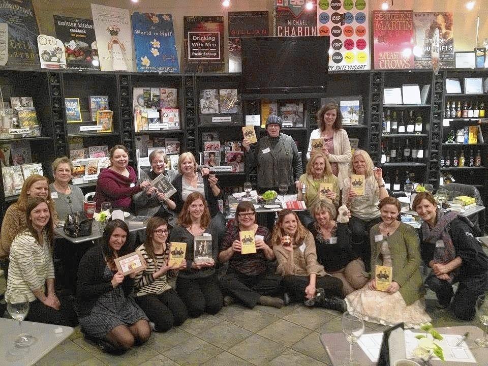 The Book Cellar Book Club meets at the Book Cellar Cafe.