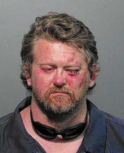 John Wayne Rogers the day of his arrest in 2012.