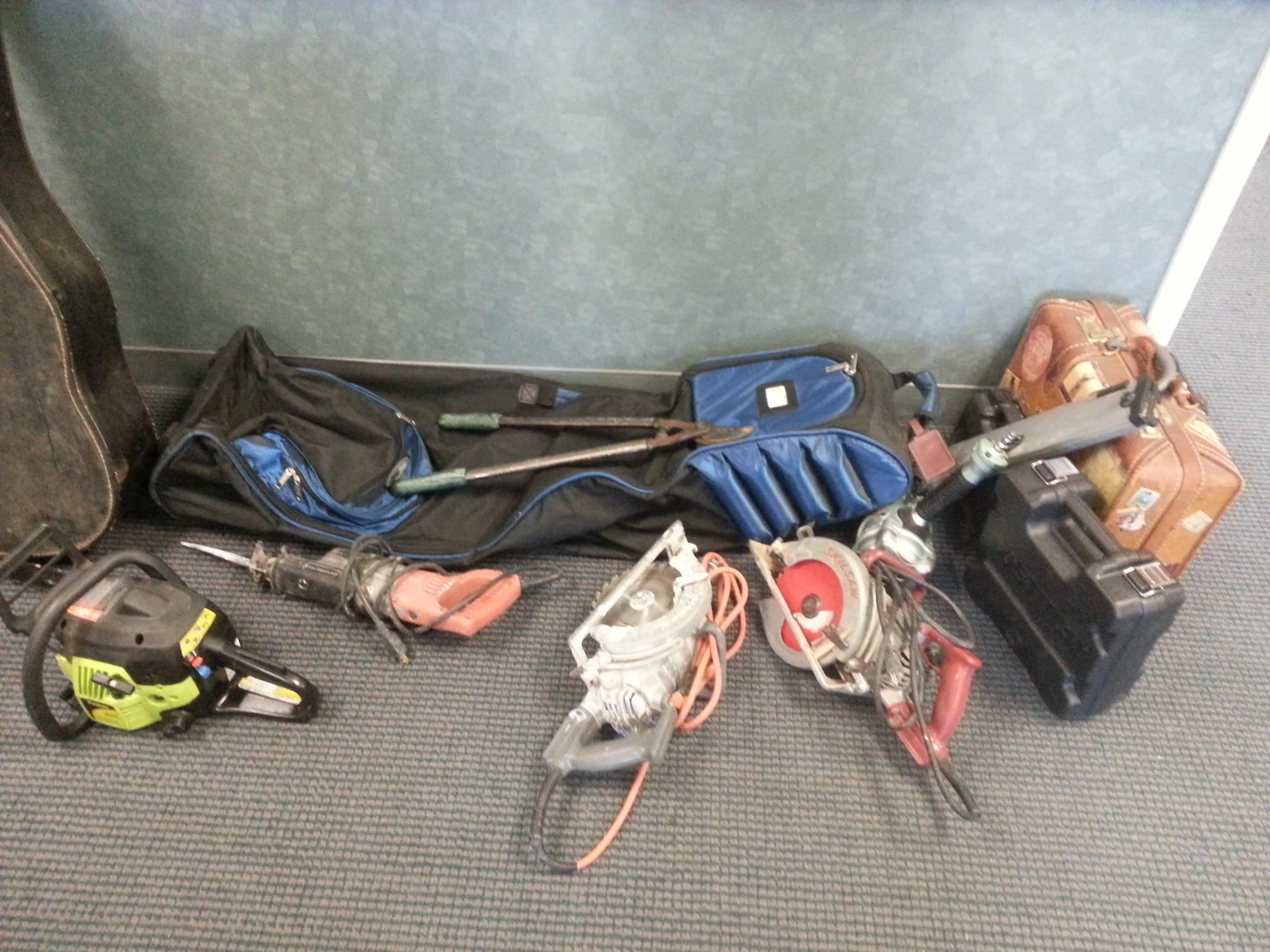 Police recovered stolen property from several locations in the city after the arrests of a man and woman.