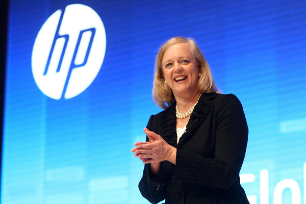 Hewlett-Packard CEO Meg Whitman