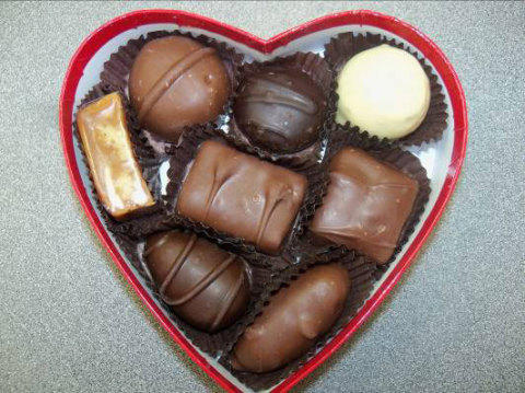 Fannie May is recalling 12,000 heart-shaped boxes of chocolates.