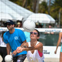 Sports Illustrated Swimsuit Beach Volleyball Tournament on Ocean Drive