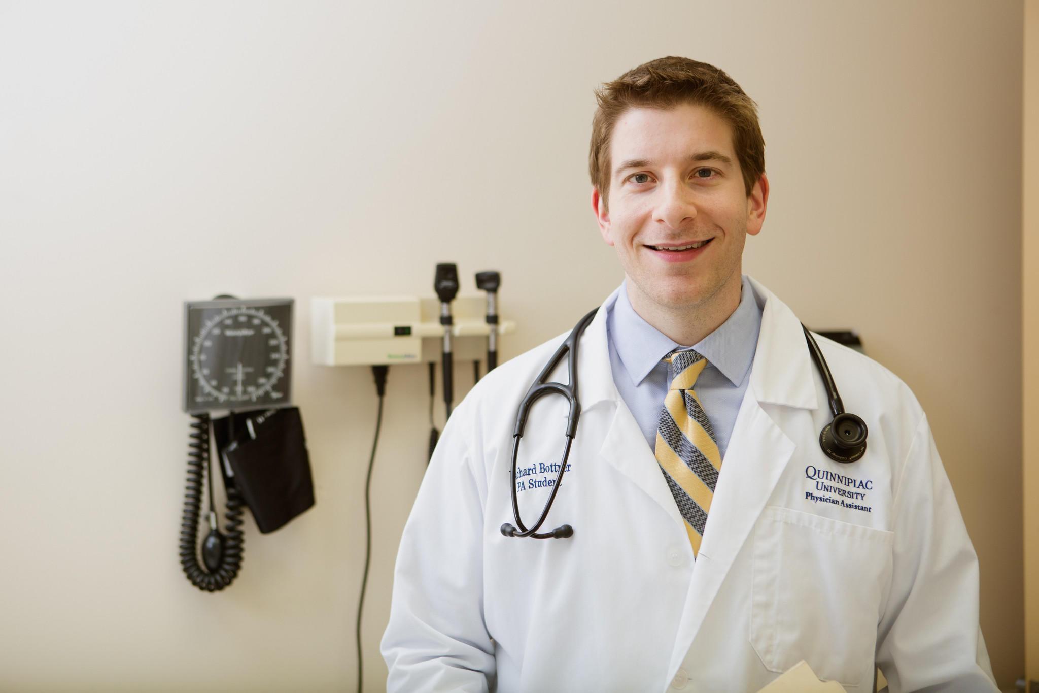 Richard Bottner, a Quinnipiac University physician assistant student, is an urban health scholar.