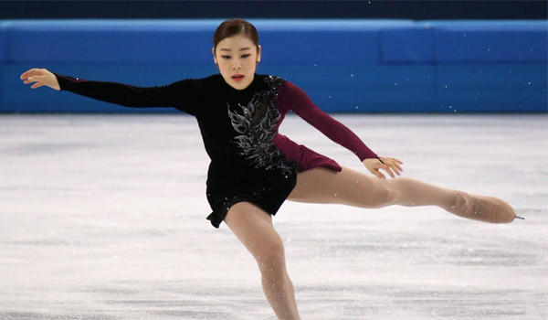 Yuna Kim of South Korea's performance wasn't enough to overcome the energy created by Russia's Adelina Sotnikova, who skated to gold in front of a home crowd at the Iceberg Skating Palace on Thursday.