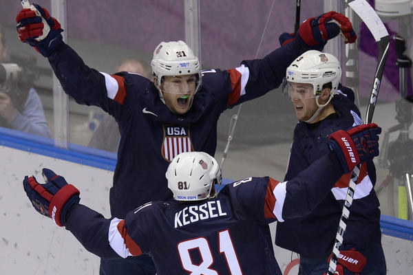 The U.S. men's hockey team