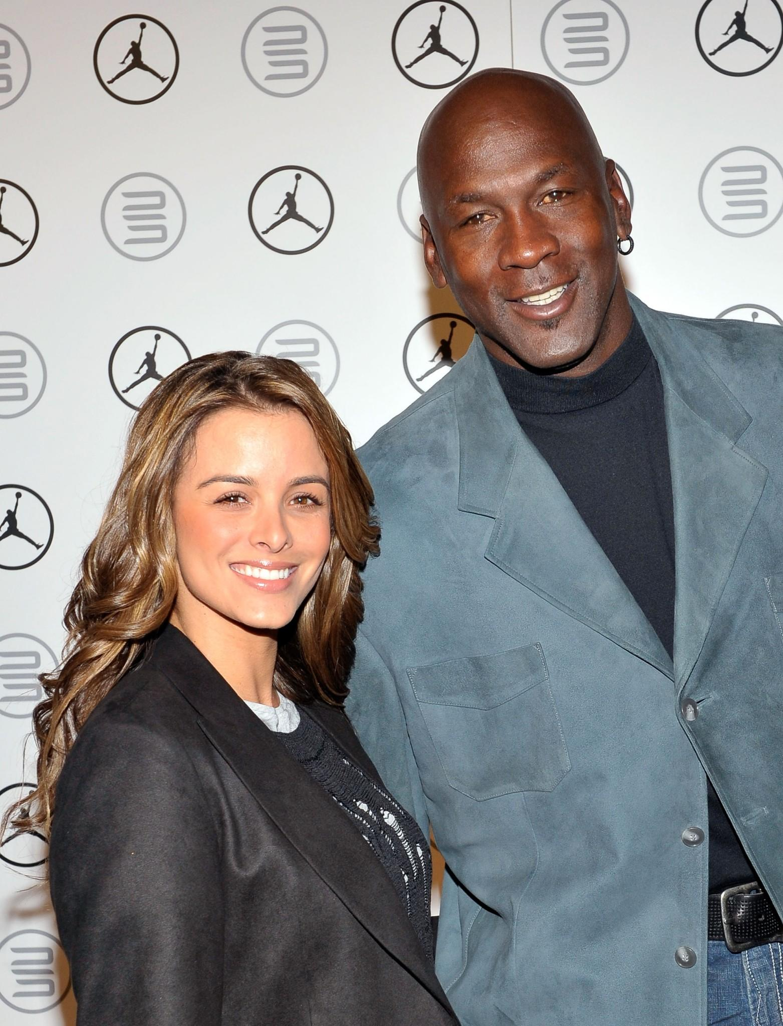 Michael Jordan and his wife Yvette Prieto welcomed identical twin daughters on February 9, 2014 in West Palm Beach, Florida.