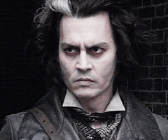 Johnny Depp in 'Sweeney Todd: The Demon Barber of Fleet Street'