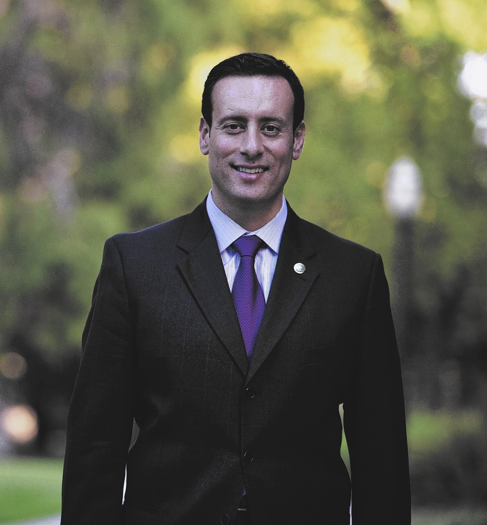 Roger Hernández, assemblyman for the 57th District, at the state Capitol in Sacramento.