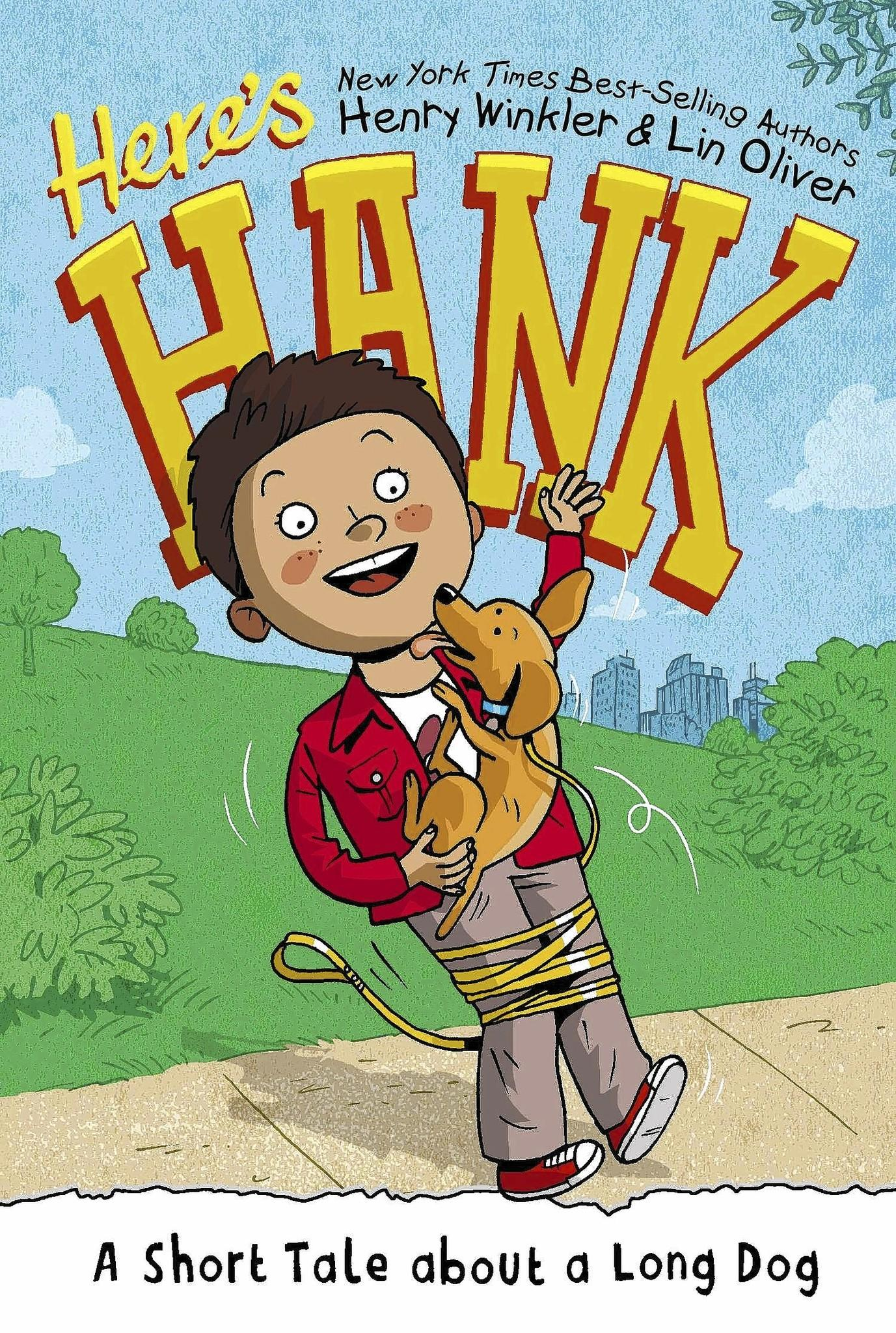 """""""Here's Hank,"""" by Henry Winkler and Lin Oliver."""