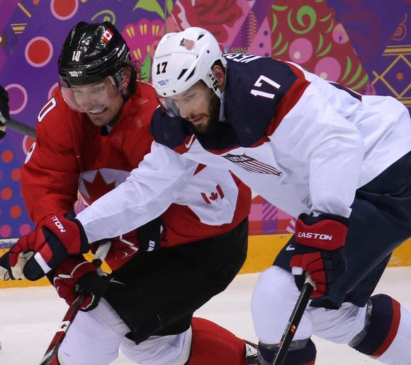 USA vs Canada Hockey