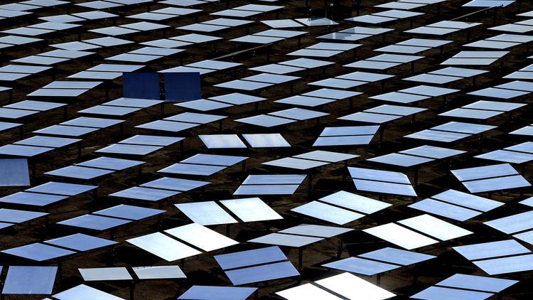 Ivanpah solar power plant
