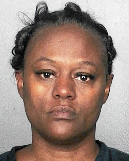 Denise Cobb is accused of emptying a 74 y.o. male stroke patient's credit union account of $24,456 in cash withdrawals and checks and of filing a quitclaim deed to transfer the Fort Lauderdale man's $42,270 home to herself.