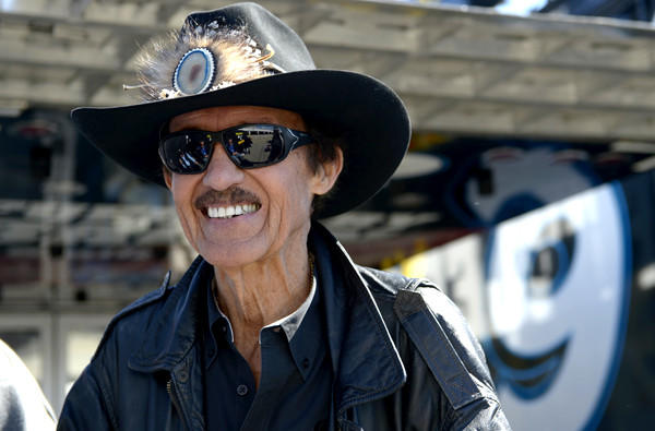 Car owner and seven-time NASCAR champion Richard Petty, 76, has said he'd be willing to race Danica Patrick.