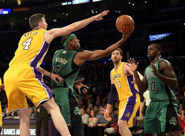 Ryan Kelly, Rajon Rondo, Pau Gasol, Brandon Bass