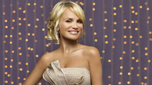 BROADWAY STAR: Kristin Chenoweth's theatrical training is apparent in the way she allows the songs to come alive on her album.