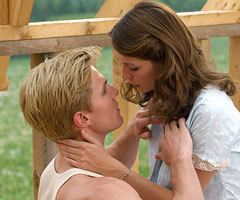 Gregory Smith and Mischa Barton in 'Closing the Ring'