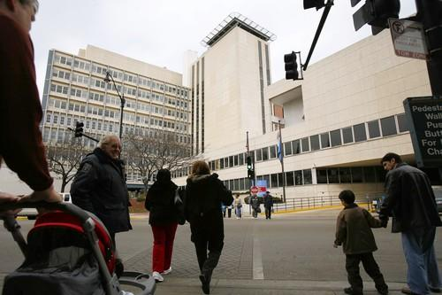Children's Memorial Hospital, pictured here in Lincoln Park.