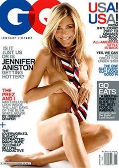Jennifer Aniston, January 2009 <i>GQ</i>