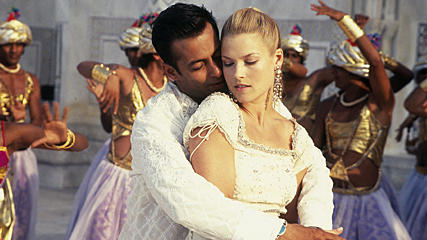 Ali Larter and salman khan