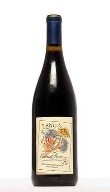 Lang & Reed's 2010 Cabernet Franc has it all -- a gorgeous red-violet color, beautiful texture, a taste of cherries, forest and smoke. This one, an assemblage of four vineyards from Lake County to Napa Valley, is refined and subtle, with ripe tannins and a lovely finish. From $19 to $23.
