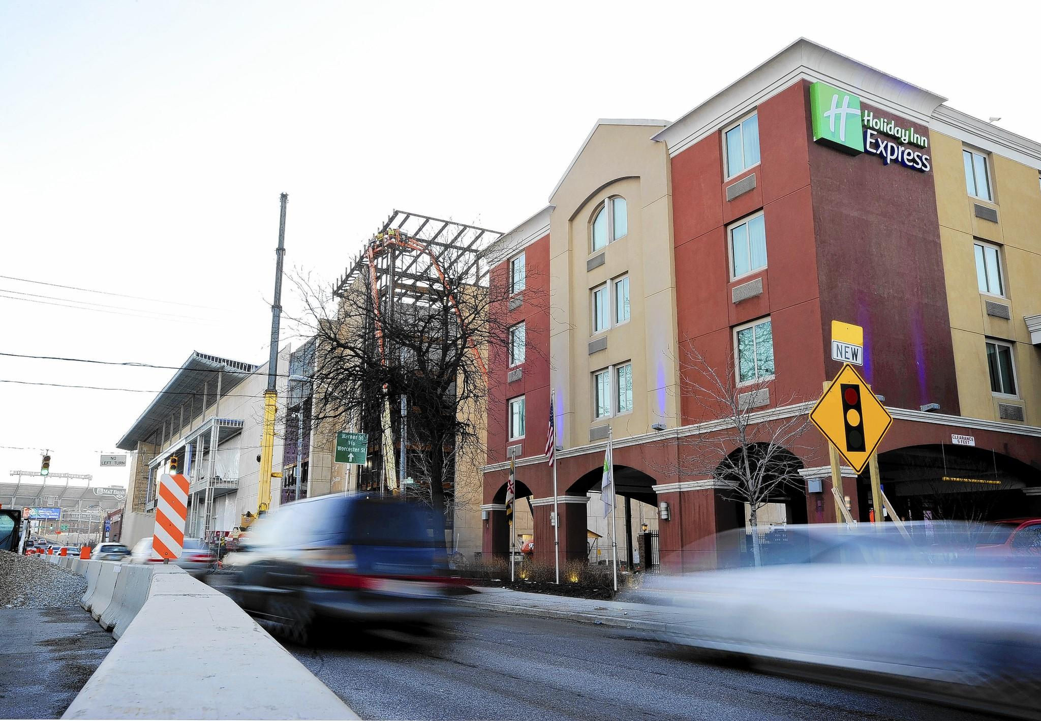 A Holiday Inn is already located next to the Horseshoe Casino on Russell Street.