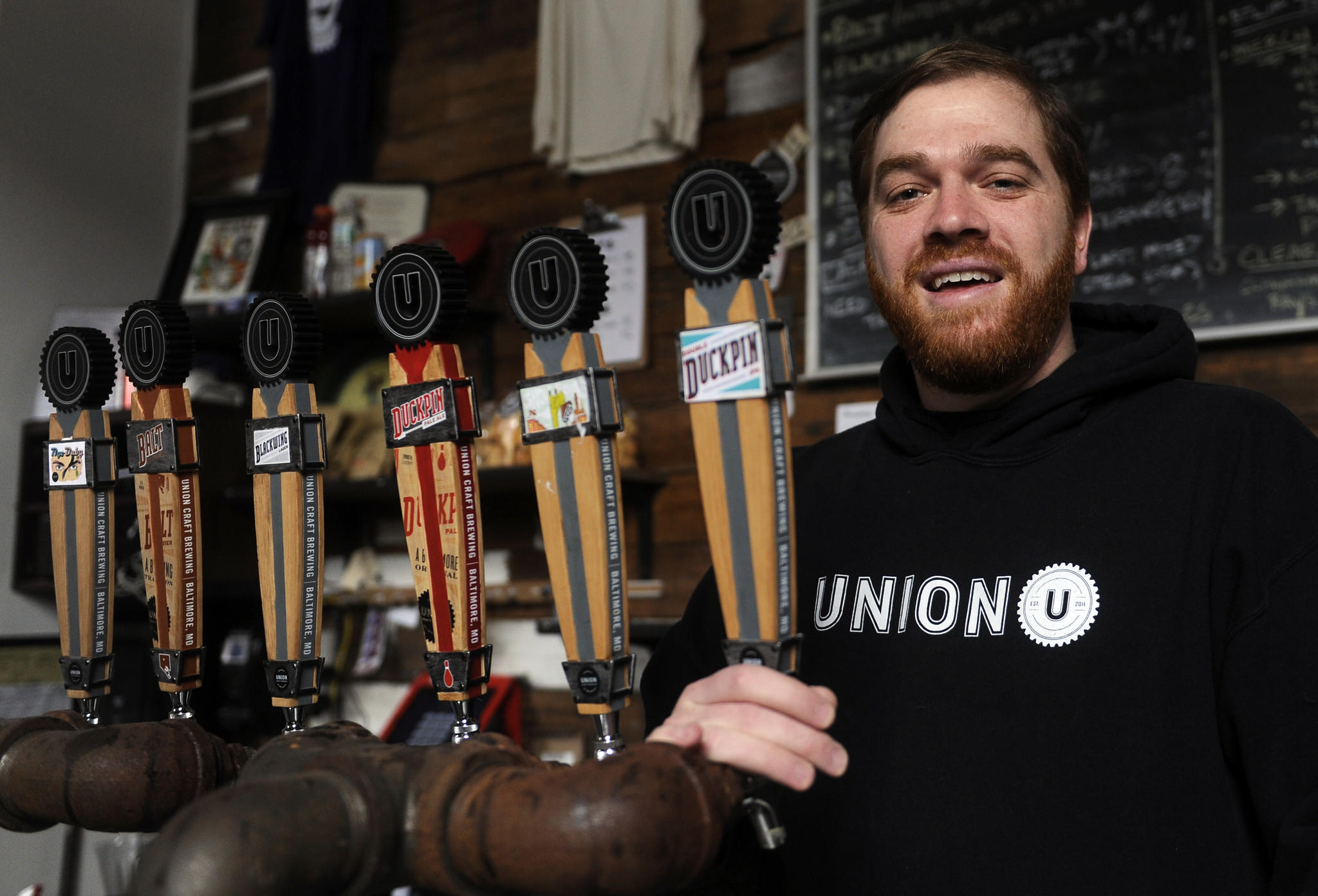 Adam Benesch is the co-founder of Union Craft Brewing Company.