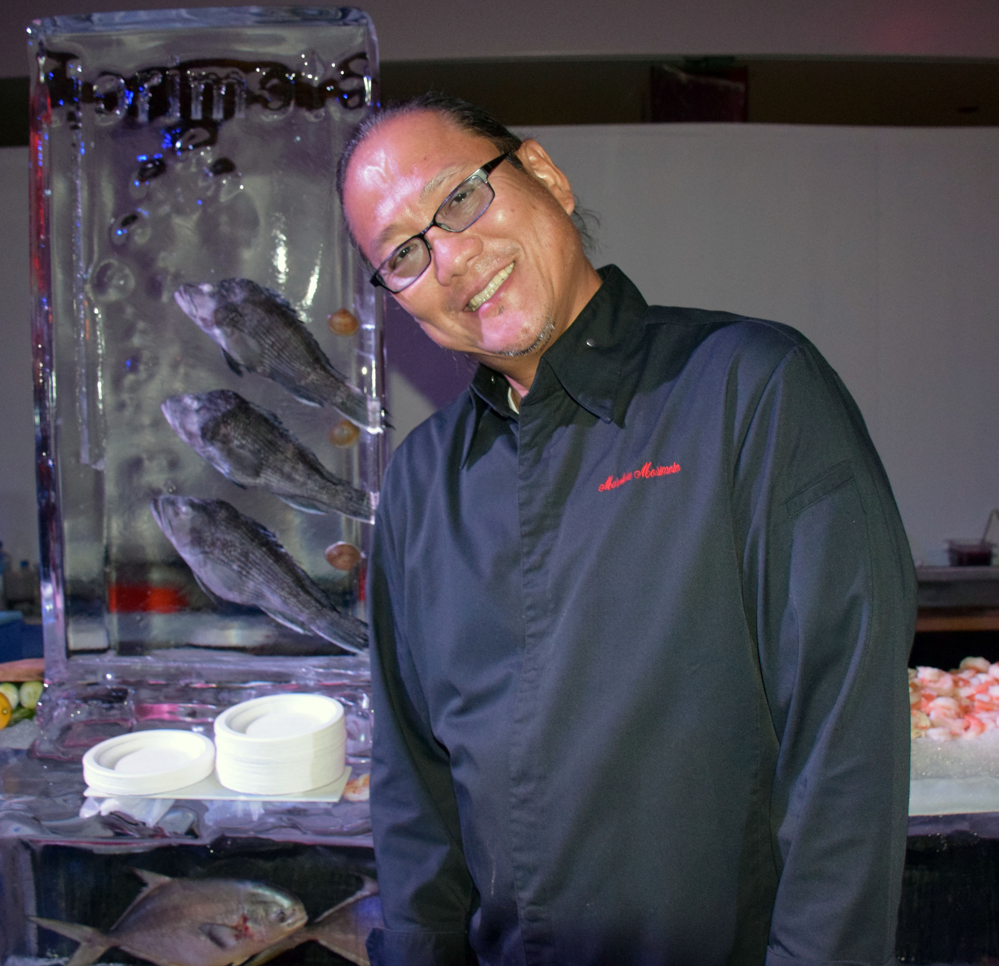 Celebrity-spotting at the South Beach Wine & Food Festival - Chef Masaharu Morimoto